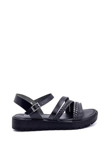 Derimod Kadın Sandalet (321) Casual Siyah